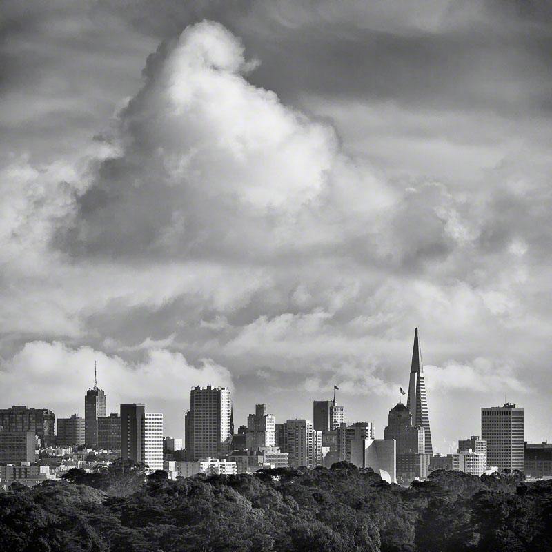 San Francisco Storm Clouds