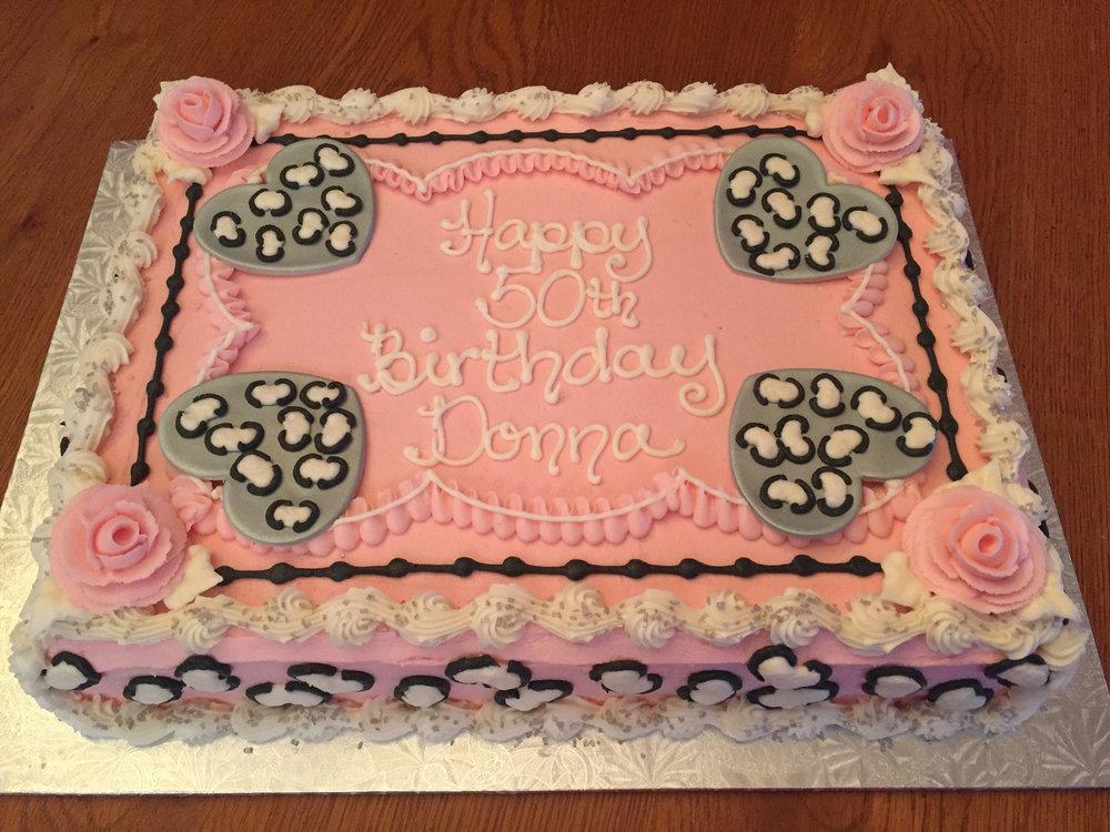 birthday Cakes by Caroline