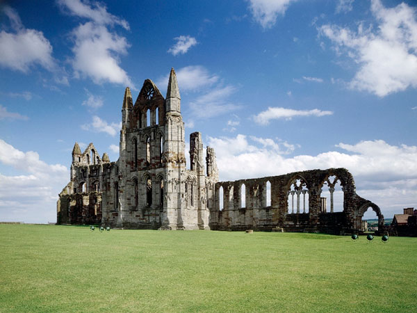 Whitby Abbey - Whitby Abbey is a whole lot more than a spectacular looking cliff top landmark. Generations have been drawn to these well-known ruins for which this famous and world-wide known Abbey is a site of literary inspiration, religious devotion and pilgrimage. It is also known to be one of the most atmospheric visitor attractions along the Yorkshire coastline.