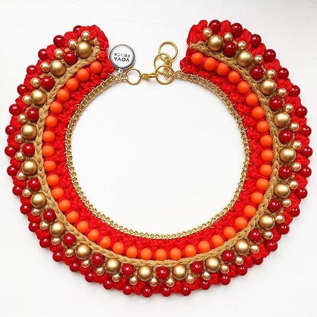 🔥🔥🔥a super hot #necklace  #vovafruck #statementnecklace #handmadejewelry #handmade  #accessories #fashion