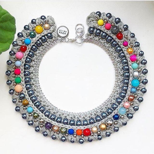 #eyecandy indeed  #vovafruck #statementnecklace #handmade #handmadejewelry  #accessories #fashion