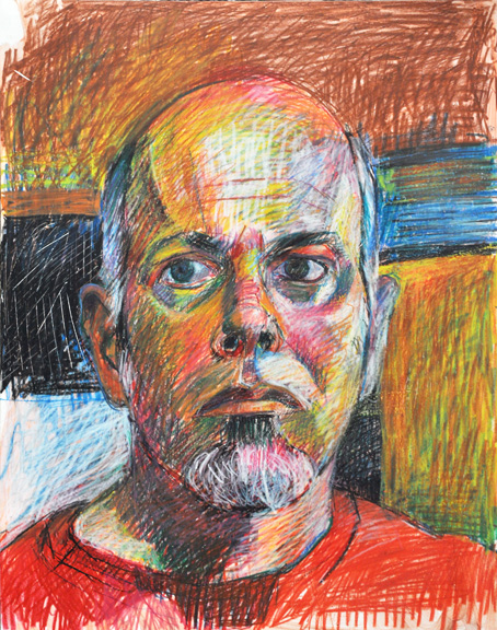 Self Portrait,   Jeffrey Marshall