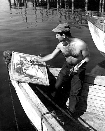 Sam Feinstein  Gloucester Harbor, 1946