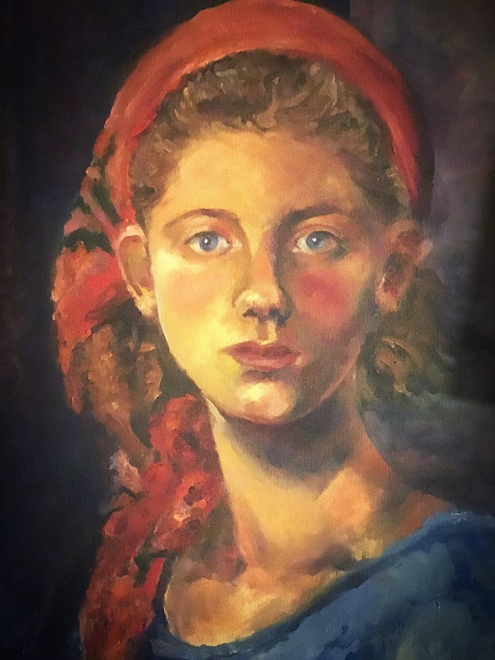 Kathleen George/Self Portrait
