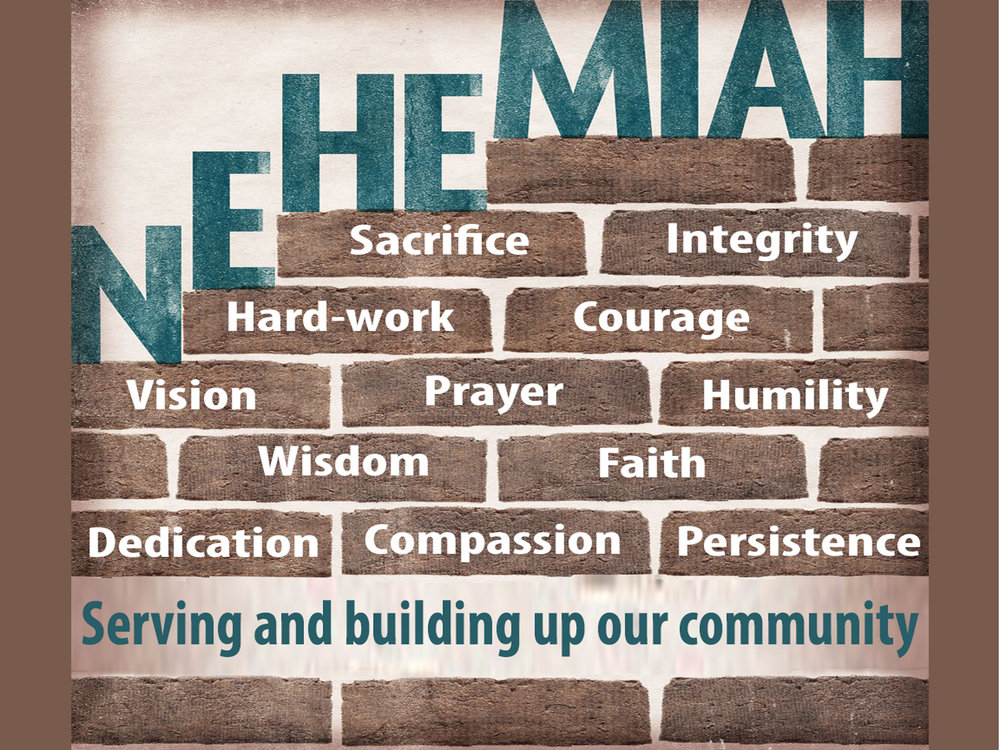 Nehemiah was a man who was willing to do hard word to rebuild the walls of Jerusalem. As he did this he also served and built up the people around him in many ways. How should we be like Nehemiah? -