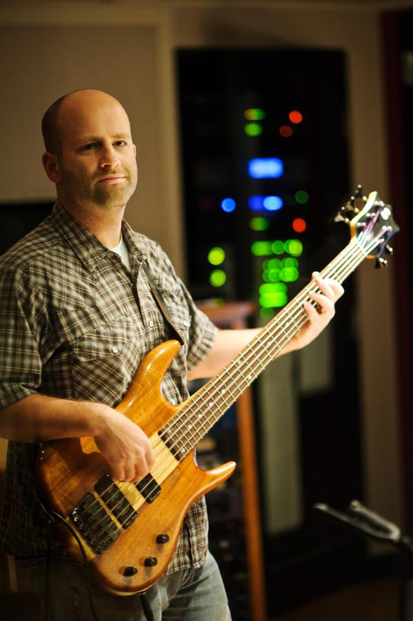 Andrew Kramer, Recording in the Control Room, CDIA Studios- Photo by Johnny Arguedas.jpg