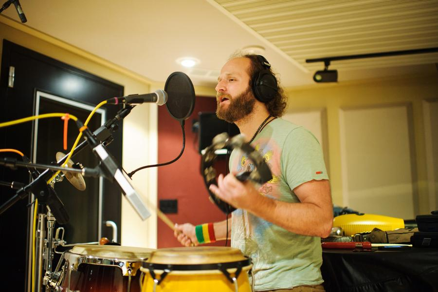 Jim Levin, Recording in Iso Booth 2, CDIA Studios - Photo by Johnny Arguedas.jpg
