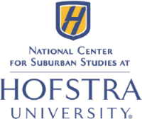 What can I say? Hofstra's National Center for Suburban Studies made the tee shirts possible and still gave us a comfortable bumper to work with.  They gave a very generous sponsorship.