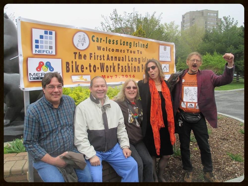 Mark, Chris, Sharon, Sylvia and Bill