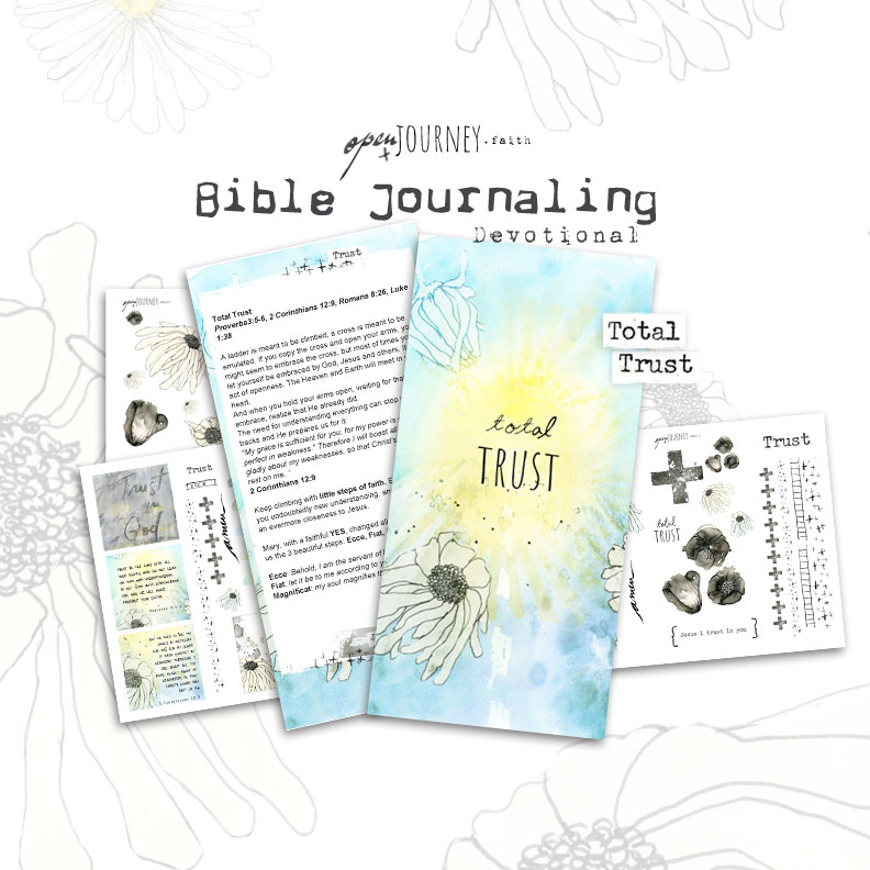 Total trust, creative devotional kit