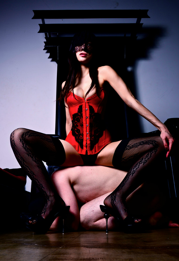 You can find Mistress Colette on  Twitter , book an appointment on her  website , or  read her blog .