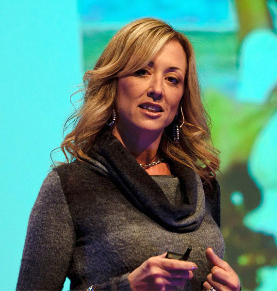 Jenna's funny TED talk on marriage has almost four million views.
