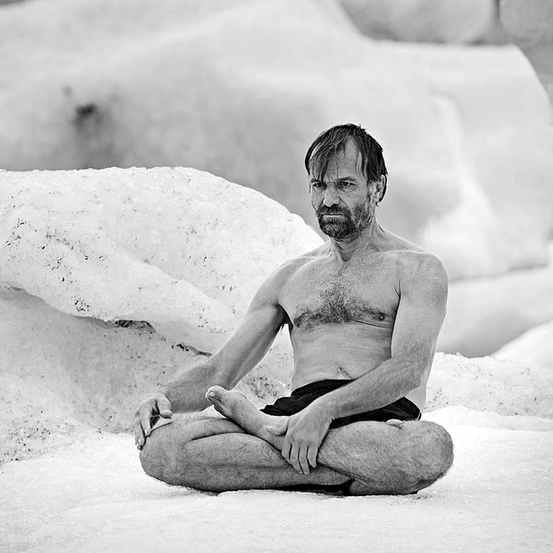 """The Iceman,"" Wim Hof"