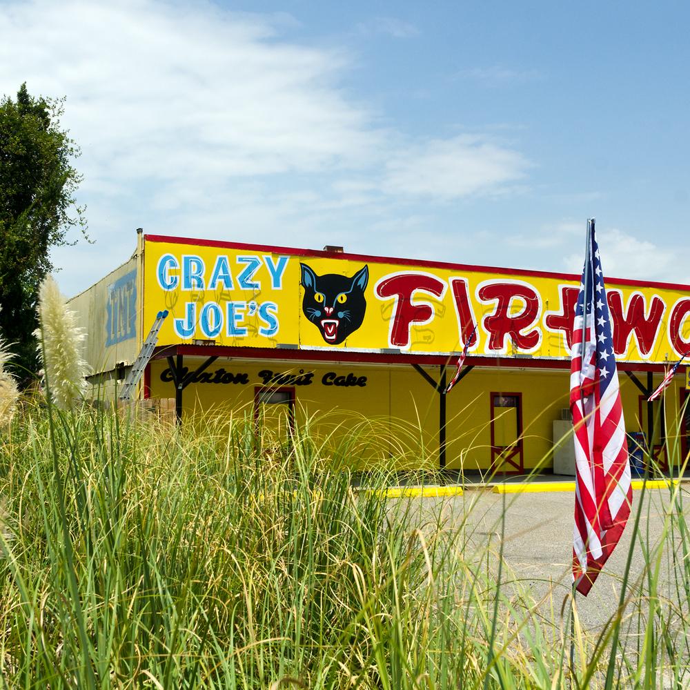 Crazy Joe's Fireworks. Hardeesville, SC.
