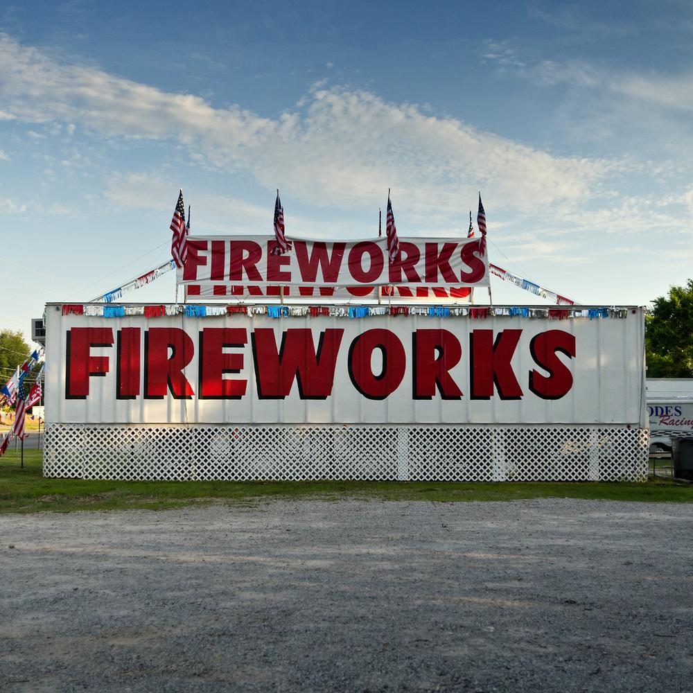 Fireworks x 3. Florence, AL.
