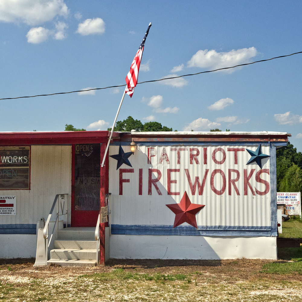 Patriot Fireworks. Chesnee, SC.