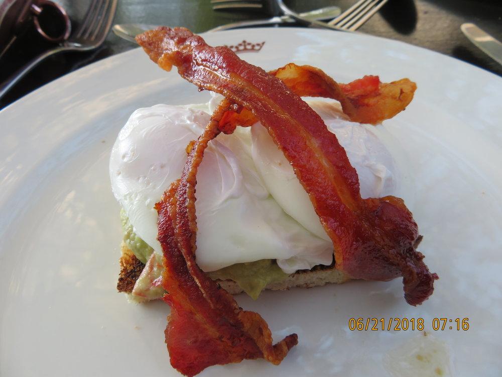 Breakfast poached eggs.JPG