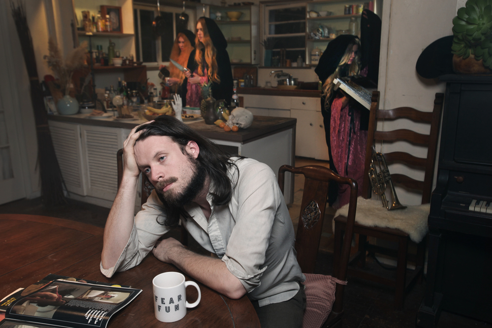"Father John Misty ""Fear Fun"" press photos"