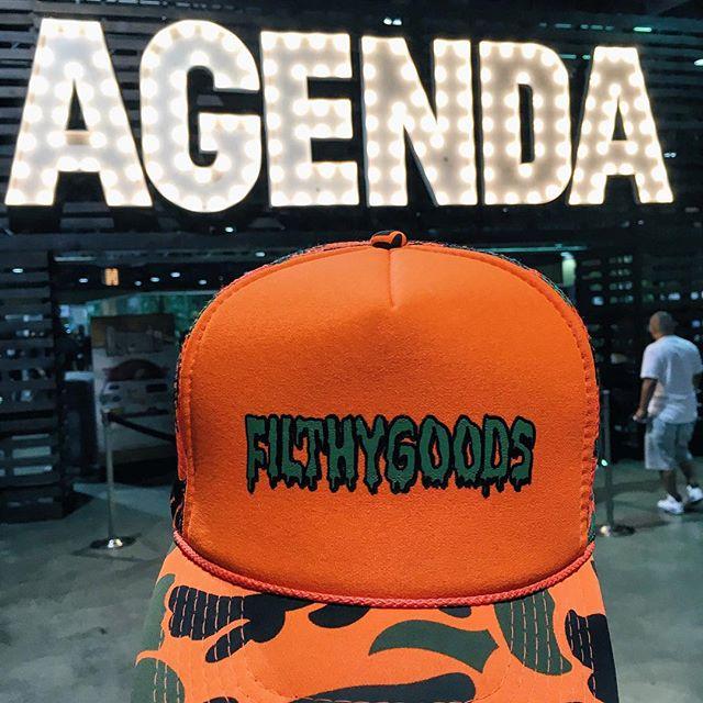 Today was a #Goodday 👌🏼 --------------------------------------------- #FilthyGoods x #FilthyAsFuck x #Streetwear X #agendashow x #longbeach x #filthy x #camo x #gettingpaid x #streetwear x #streerfashion x #fashion x #lbc x #agendalongbeach x #agenda x #heavyhitters x #summer16 x #stayreppin x #losangeles x #Colette x #makingmoves x #filthyaf