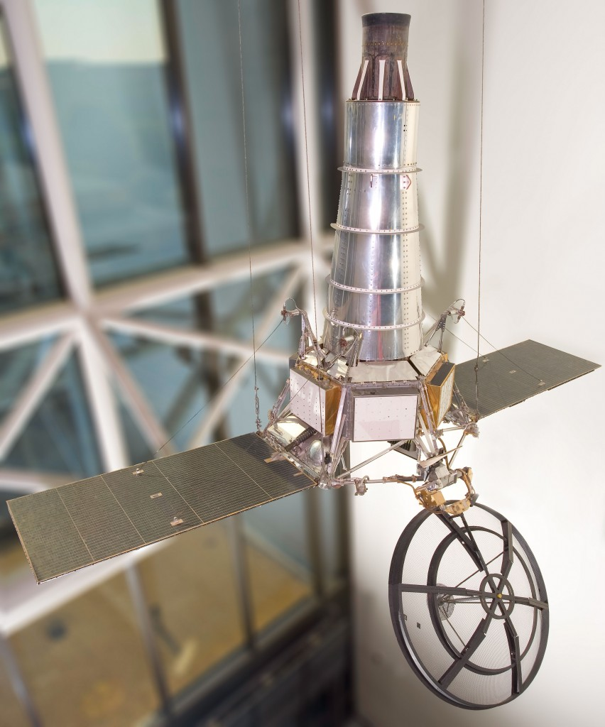 A replica of the Ranger 7 Lunar Probe (Image:  National Air and Space Museum )