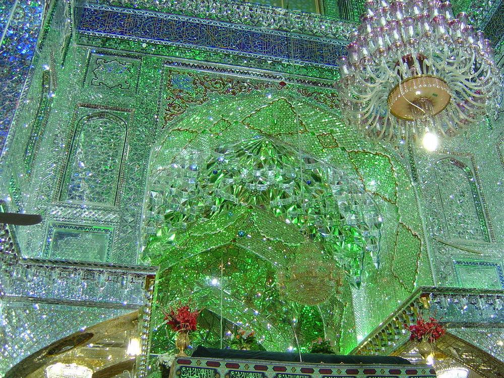 Shāh Chérāgh Shrine, Shiraz, Iran. (Image: Imgur )