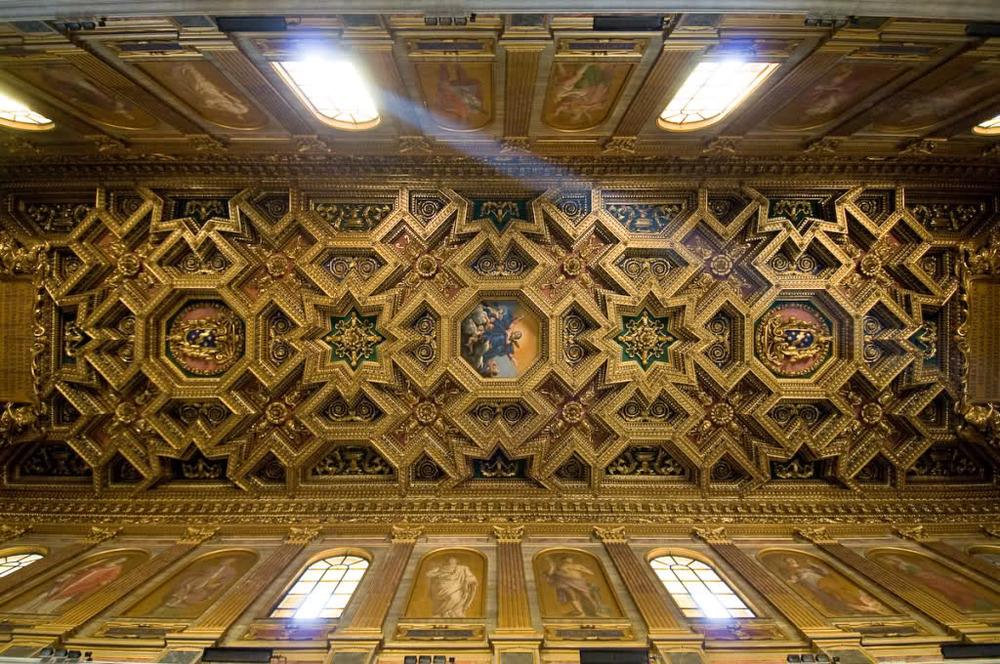 Basilica di Santa Maria in Trastevere, Rome, Italy. (Image:SkyscraperCity)