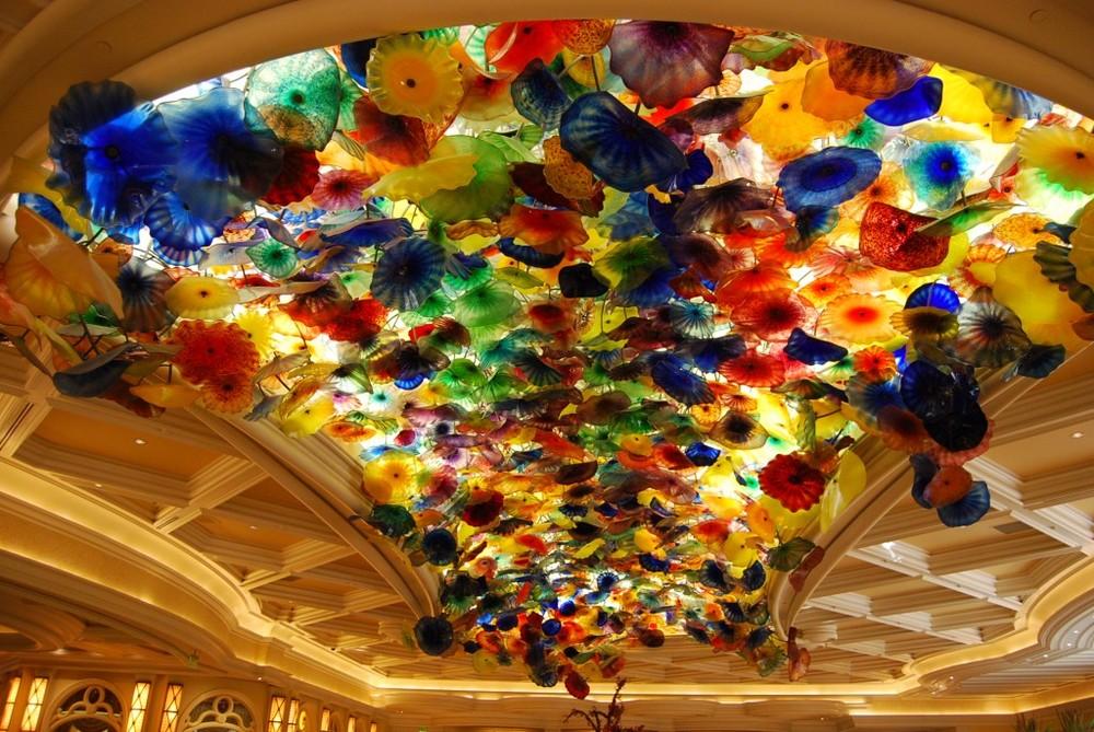 Fiori di Como, Bellagio Hotel Lobby, Las Vegas, Nevada. (Image:Catherine Sherman)
