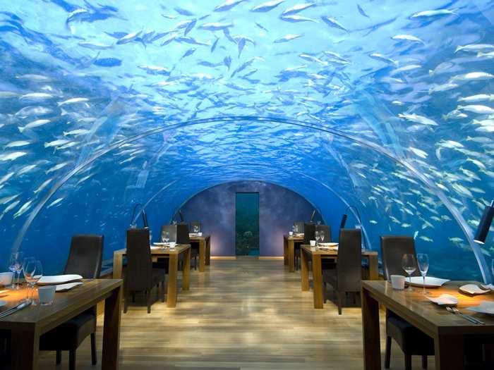 Conrad Maldives Rangali Island Hotel, Maldives. (Image:El Aderezo)