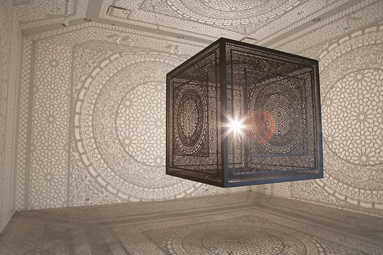 Anila Quayyum Agha squarecube