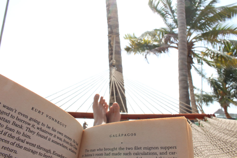 Hammock reading go to: Vonnegut.