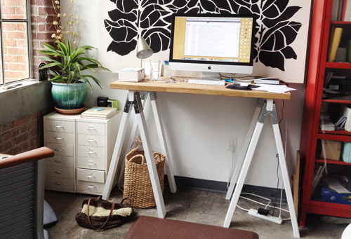 DIY standing-desk