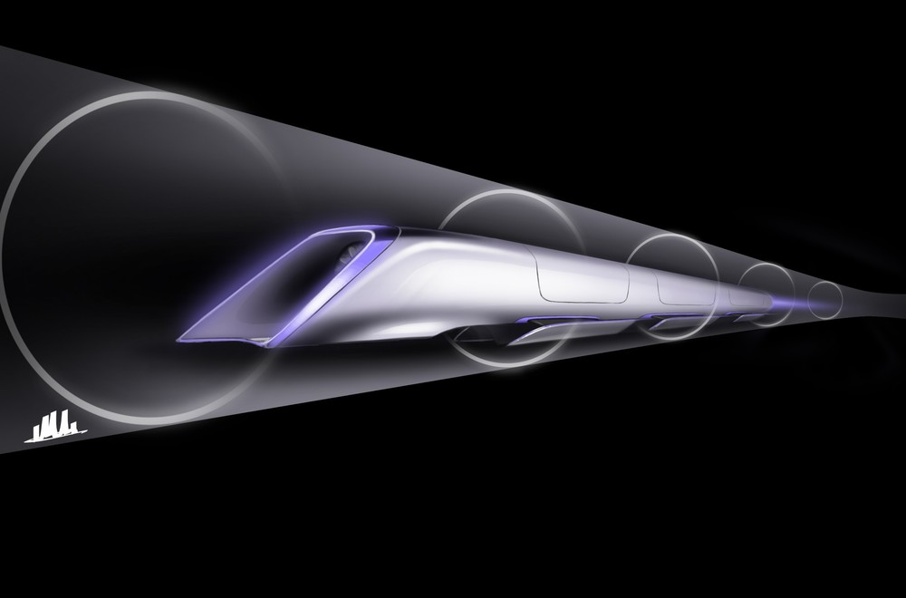 Image: Hyperloop / Tesla Motors.