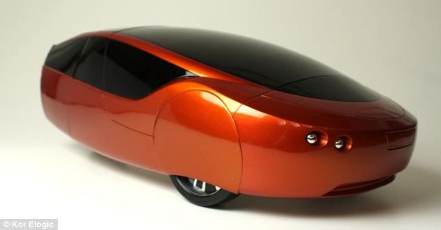 Urbee , the 3D printed car.