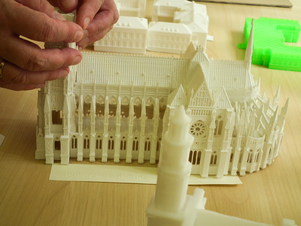 3D Printed Model of Reims Cathedral (Image: 3D Print)