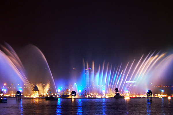 The Music Fountain  , Jinji Lake