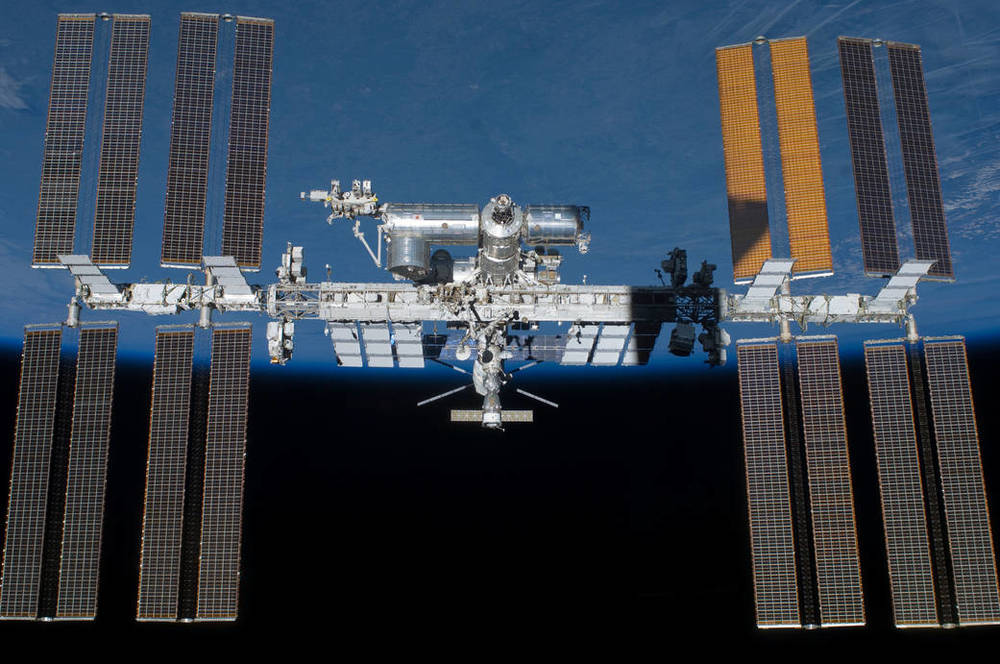 """NASA and its international partners completed assembly of the International Space Station in the fall of 2011."""