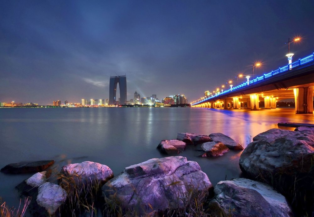 Jinji Lake in Suzhou