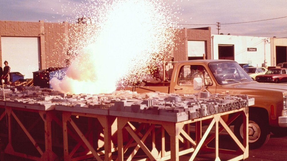Practical special effects from the first Star Wars movie.