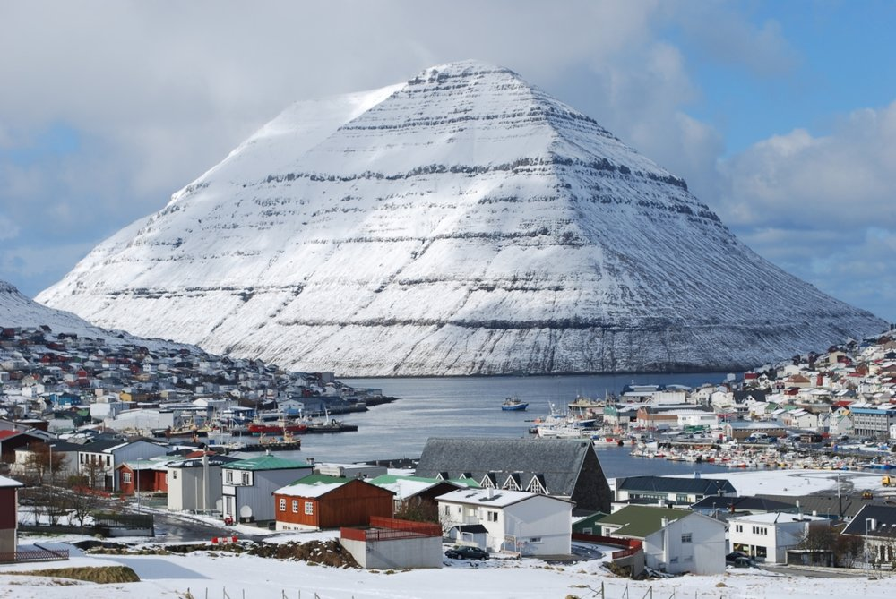 Klaksvik is the second-largest city in the Faroe Islands. (Image:  Erik Christensen )