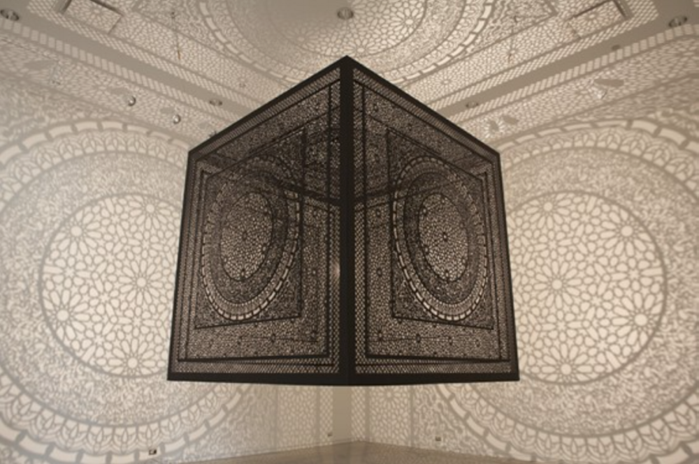 Anila Quayyum Agha_Shadow Art