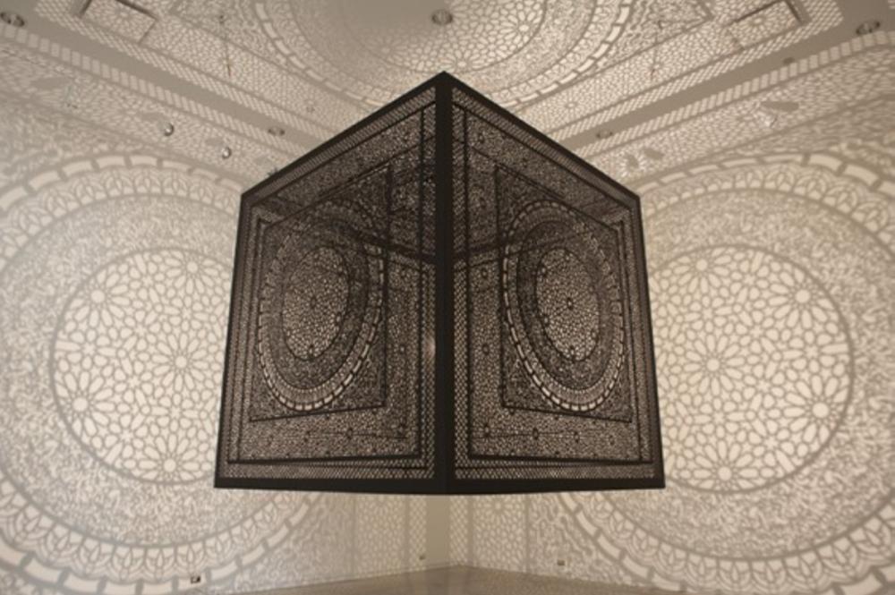 Anila Quayyum Agha_Shadow Art