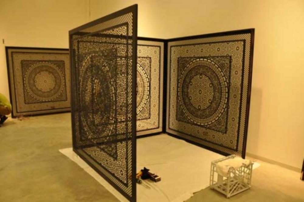 Anila Quayyum Agha _Geometrical