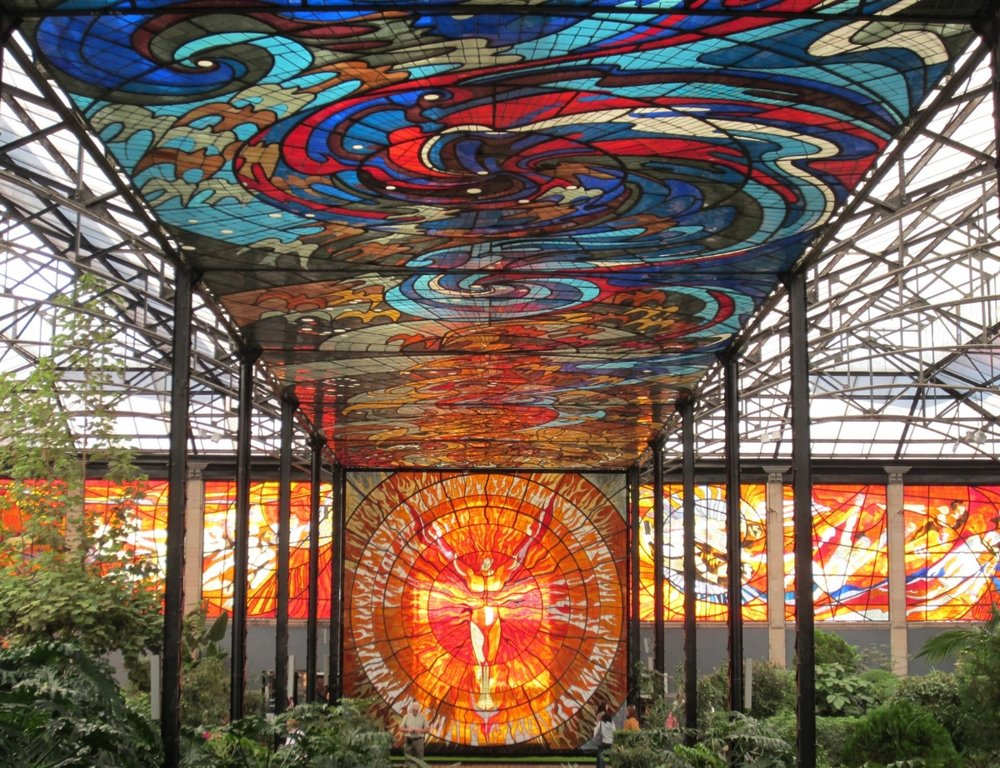 Cosmovitral Botanical Garden, Toluca, Mexico. (Image:La Senora, The Storyteller)