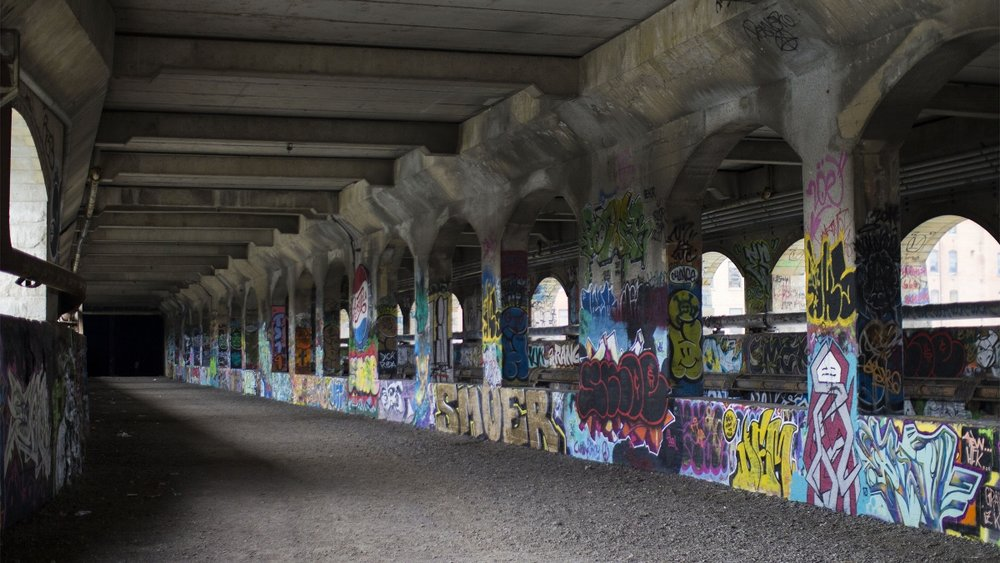 Rochester New York Subway Graffiti Street Art