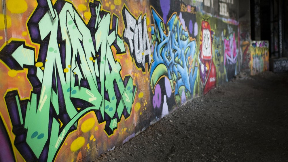 Rochester New York Subway Graffiti Street Art 2