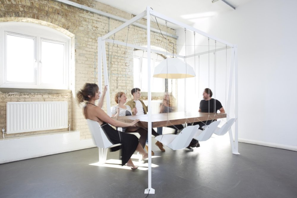 The Swing Table, by Duffy London
