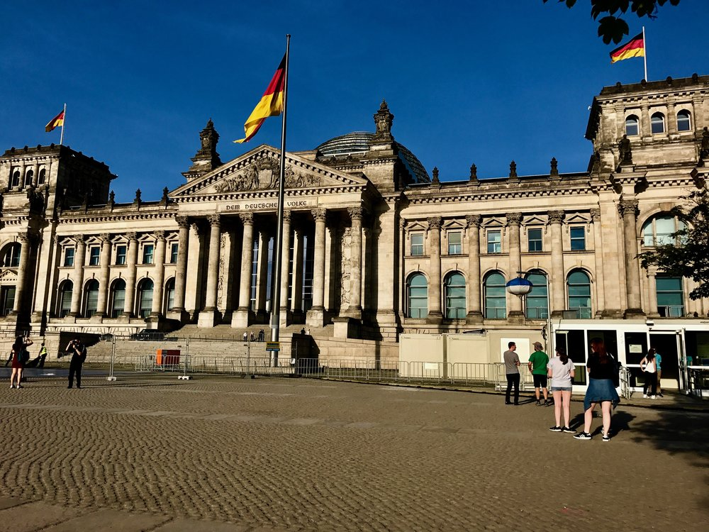 The Reichstag building is now a historic sight in Berlin, you can visit the dome and enjoy a wonder view of the city.