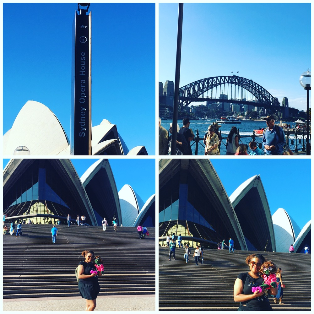 We like going to see the Opera House in Sydney.