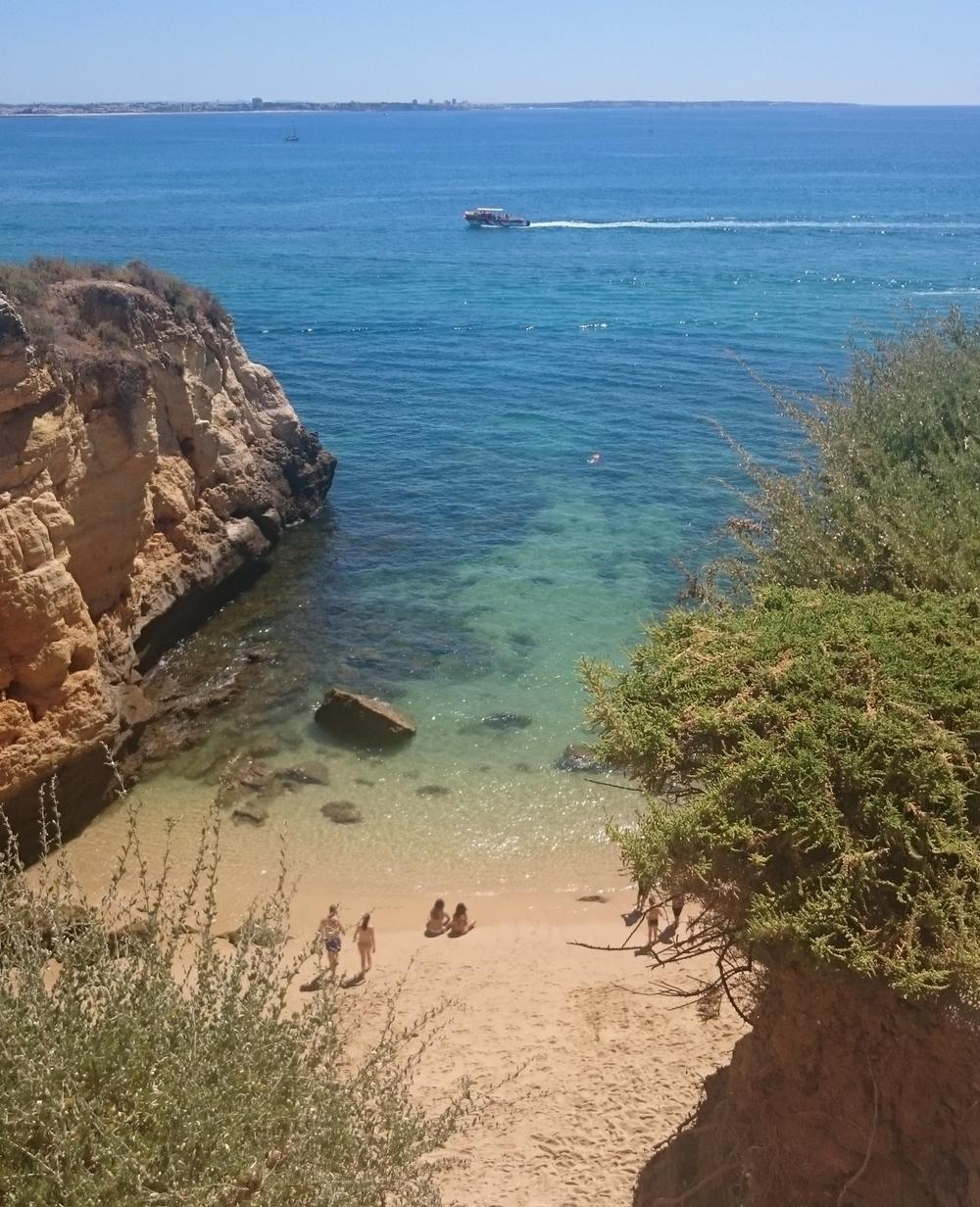 lagos, portugal beach