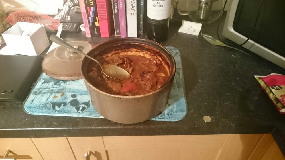 Goulash Recipe Finished